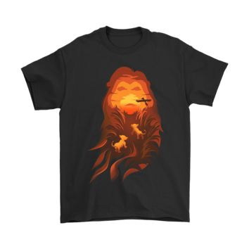 PEAP3CR Lion King Mufasa The King Of Pride Lands Shirts