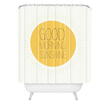 Allyson Johnson Morning Sunshine Shower Curtain