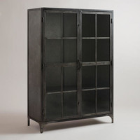 Metal Display Cabinet - World Market
