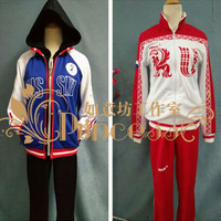 Anime Yuri!!! on Ice Victor nikiforov Yuri Plisetsky Sportswear Suit Outfit Cosplay Costume