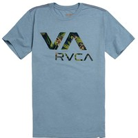 RVCA Jungle VA T-Shirt - Mens Tee - Green