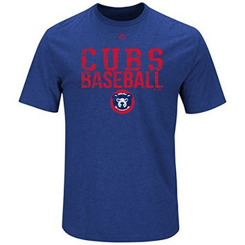 Chicago Cubs Cooperstown Collection One Winner T-Shirt Big and Tall Sizes