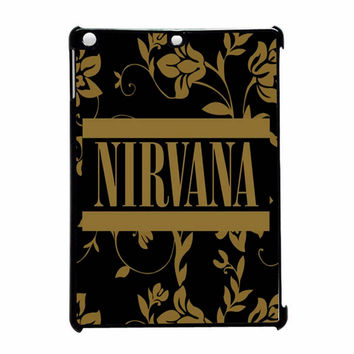 Cute Nirvana Floral 2 iPad Air Case