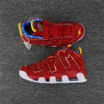 "Nike Air More Uptempo ""BPM"" Red Suede Size 40----47"