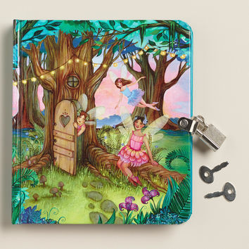 Fairy Forest Lock and Key Diary - World Market