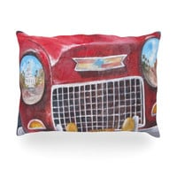 "Rosie Brown ""Vintage in Cuba"" Oblong Pillow"
