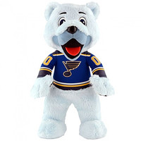 NHL St. Louis Blues Louie Plush Doll, Blue, 10""