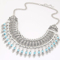 Shiny Jewelry New Arrival Gift Stylish Fashion Accessory Water Droplets Metal Transparent Necklace [6573119367]