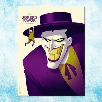 Batman Dark Knight gift Christmas Joker Batman The Animated Series DC Superhero Silk Canvas Poster 13x18 24x32 inches Pictures For Room Decor(more)-7 AT_71_6