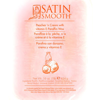 Satin Smooth Sspb10Pcg Paraffin Wax Peaches and Cream