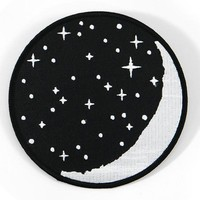 Jag Lever Waxing Moon Patch