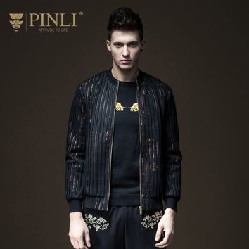 Trendy Casaco Masculino Jaqueta Masculino Pinli Product Made Fall New Cultivate Morality Men's Wear Dress Jacket Male Coat B173304390 AT_94_13