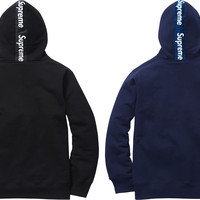 Supreme Logo Tape Zip Up