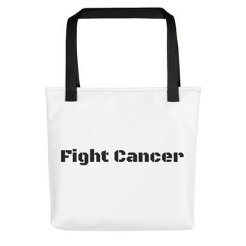Fight Cancer Tote bag Breast Cancer Awareness