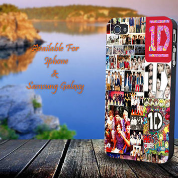 One Direction 1D - Print on hard plastic for iPhone case. Please choose the option.