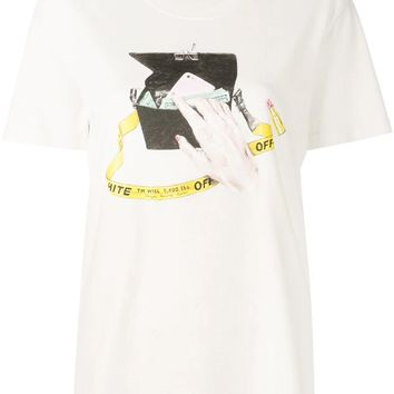 Ladies Cash On Hand T-Shirt by OFF-WHITE