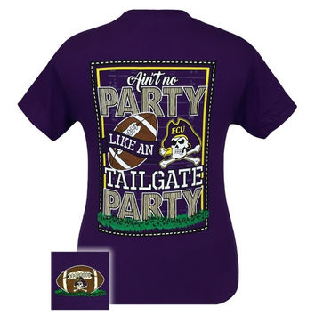 ECU East Carolina Pirates  A Greenville Tailgate Party T-Shirt