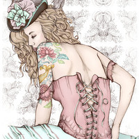 Marie Antoinette Art Print by Frances Louw | Society6