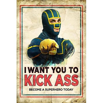 Kick-Ass 27x40 Movie Poster (2010)
