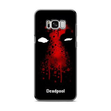 Deadpool Superhero Symbol Samsung Galaxy S8 | Galaxy S8 Plus Case