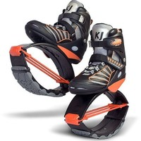 Kangoo Jumps XR3 Black and Orange Size Large Womens 10, 11, 12 Mens 9, 10, 11