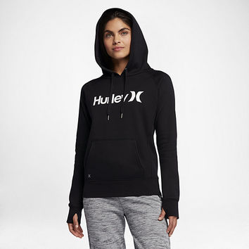The Hurley One And Only Fleece Pullover Women's Hoodie.