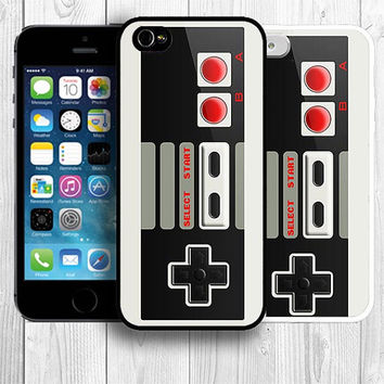 Retro iPhone 5S Case, Nintendo TV Game Controller iPhone 5 Case iPhone 4S / 4 Back Cover --000014