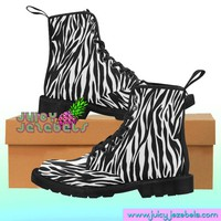 SLINKY SAFARI Combat Boots Rave Clothing Music Festival Clothing Rave Outfit Women Burning Man Clothing Rave Wear Psychedelic Clothing