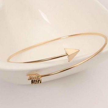 Ladies Simple Fashion Romantic Adjustable Cupid Arrow Love Bracelet