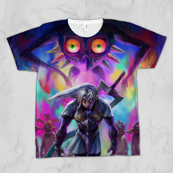 The Legend of Zelda: Majora's Mask Fierce Deity Link Unisex Video Game Sublimation T-shirt