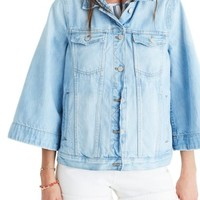 Madewell Bell Sleeve Denim Jacket | Nordstrom