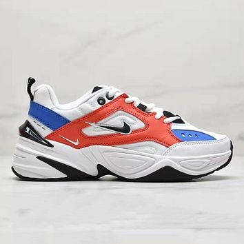 NIKE WMNS M2K Tekno Fashion New New Fashion Hook Contrast Color Women Men Shoes
