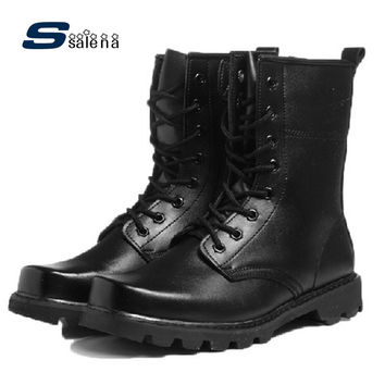 Army Boots Men Soft Footwear Classic Men Boots Fashion High Quality Shoes AA20087