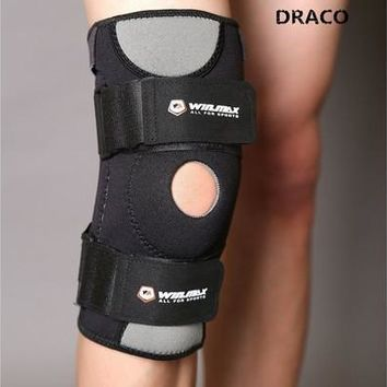 Quality Knee Brace Support for Meniscus,ACL,PCL,Arthritis,Running,Hiking,Basketball. Breathable Neoprene, Open Patella Protector, Stabilizer Compression Support Sleeve, Adjustable Size for Most Women/Men [8833663244]