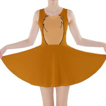 Chip and Dale Dale Inspired Skater Dress