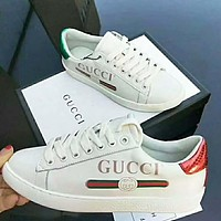 Gucci Old Skool Classic Popular Women Leather Sneakers Sport Shoes