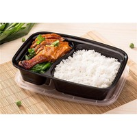 Lunch Box 2 Reusable Plastic