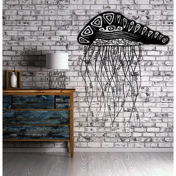 Decal Jelly Fish Ocean Marine Ornament Cool Mural Vinyl Decal Unique Gift (z3153)