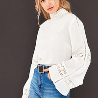 Angie Calilily Blouse - Urban Outfitters