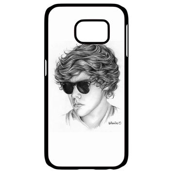 One Direction Harry Styles Art Pencil Samsung Galaxy S6 Edge Case