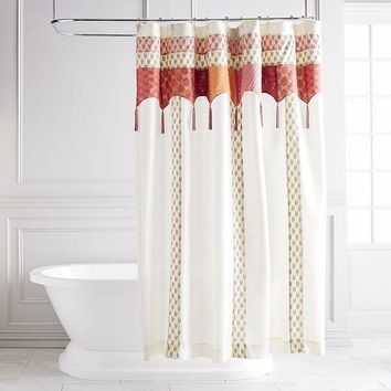 Bohemian Sari Shower Curtain