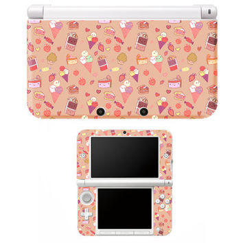 Sweet Tooth Kawaii Candy 3DS XL Skin Decal Sticker Cover Gamer Japan Anime