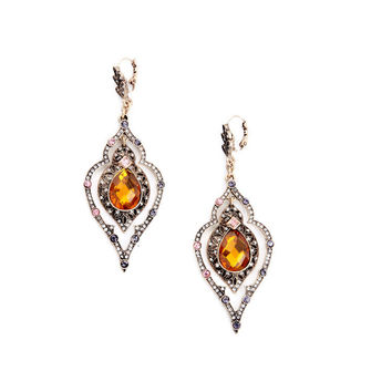 Moroccan Gem Drop Earrings