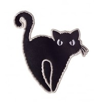 Banned Apparel Black Cat Patch | Attitude Clothing