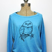 Slouchy Owl Pullover