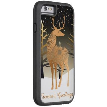 Christmas Reindeer Tough Xtreme iPhone 6 Case