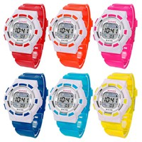 Childrens Digital LED Sports Watch