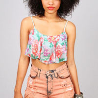 Blossom Bust Crop Top | Cute Tops at Pink Ice