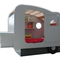 Bed CARAVANE LIT CARAVANE & LIT TENTE Collection by Mathy by Bols | design François Lamazerolles