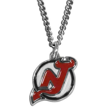 New Jersey Devils® Chain Necklace HN50N